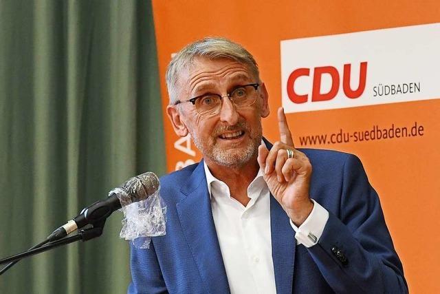 CDU kürt Armin Schuster zum Kandidaten für den Wahlkreis Lörrach-Müllheim