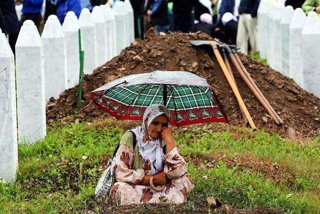 Die Wunde Srebrenica ist nicht verheilt
