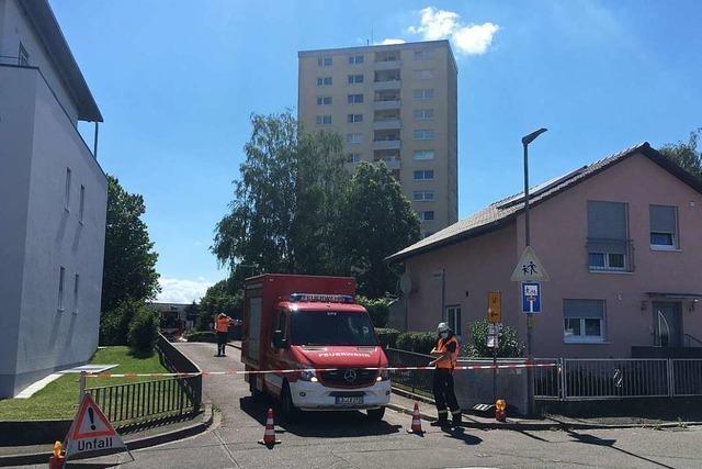 Streit in Hochhaus in Lahr eskaliert - 88-Jähriger mit Machete verletzt