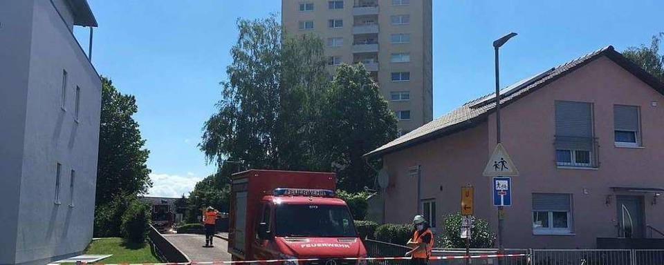 Streit in Hochhaus in Lahr eskaliert – Mann mit Machete verletzt
