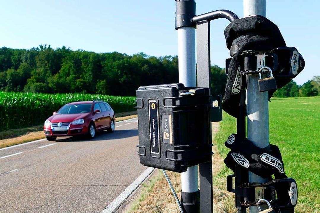 Eine von landesweit 40 Teststrecken: D...ohne eingezeichnete Radschutzstreifen.    Foto: Victoria Langelott