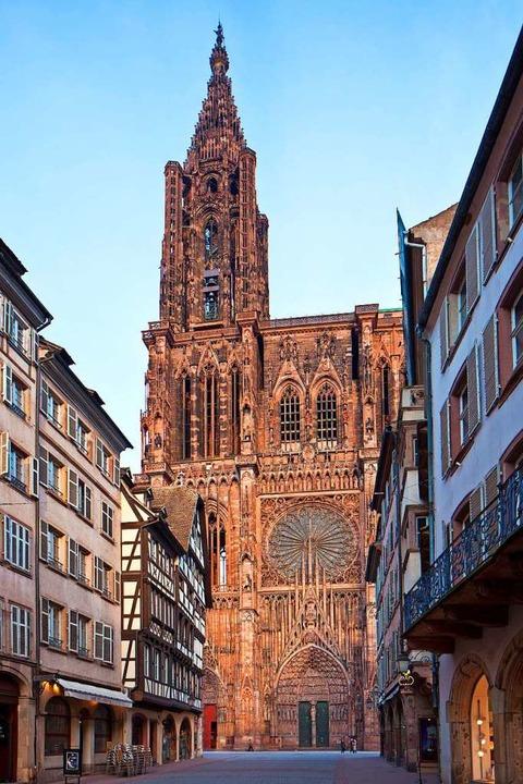 Berühmt:  Straßburger Münster  | Foto: Christophe Hamm