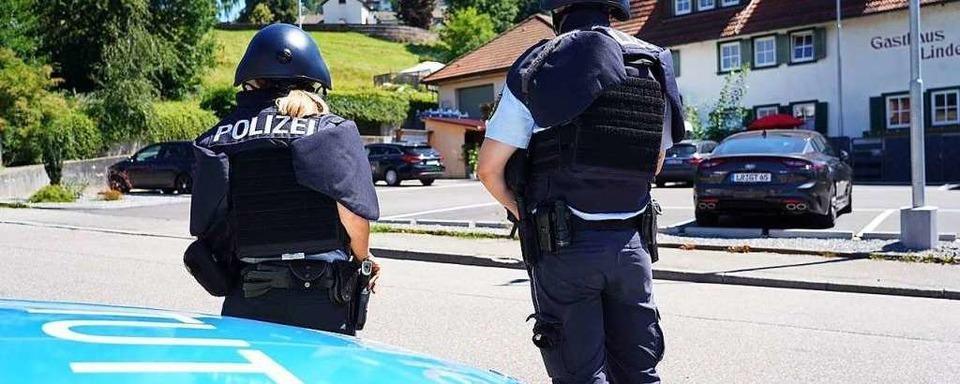 Großer Polizeieinsatz in Oppenau – Warnung vor einem Bewaffneten