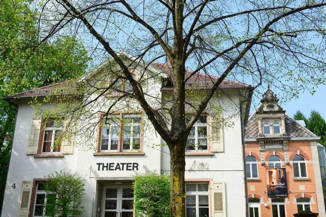 Normalerweise führt das Theater im Marienbad hier seine Aufführungen auf.  | Foto: Ingo Schneider