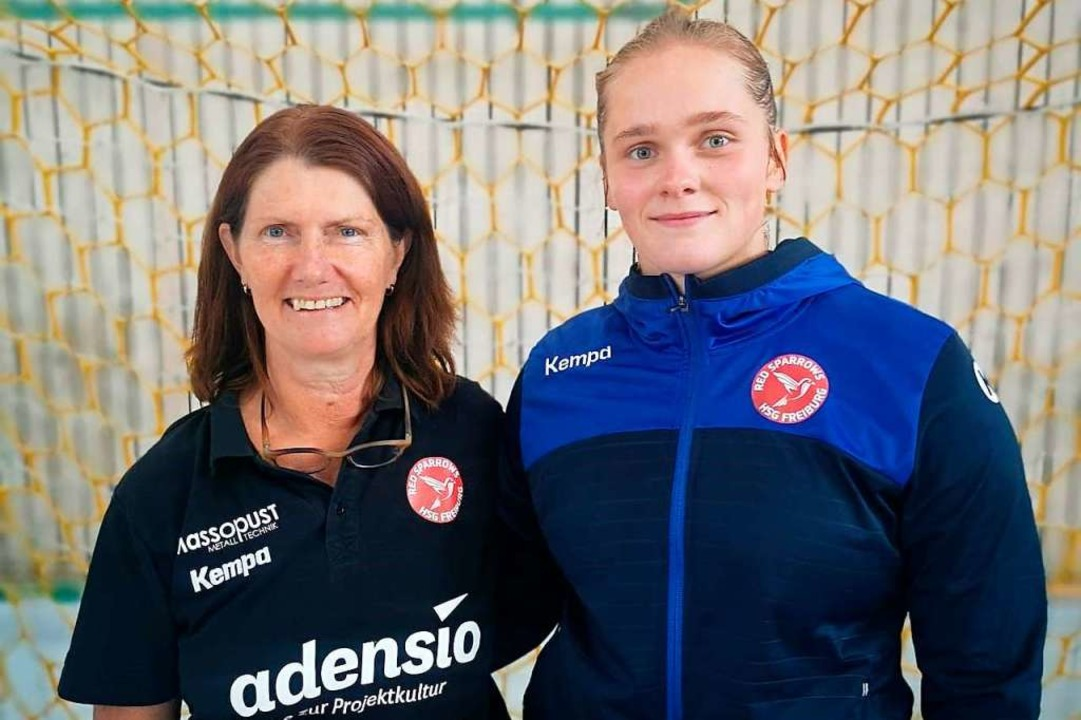 Gisela Schoritz, die sportliche Leiter...er skandinavische Zugang Natacha Buhl.  | Foto: privat
