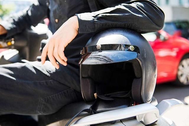 Am Wiedener Eck verletzt sich ein Biker schwer