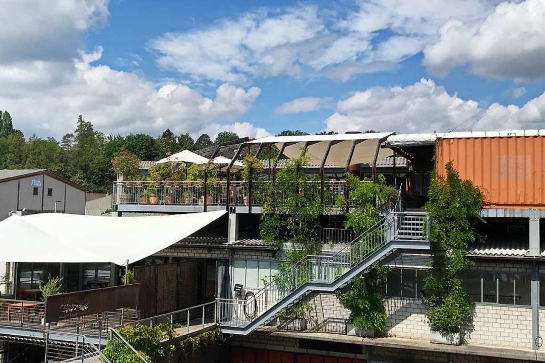 Der Basler Club Elysia veranstaltet Pa...er freiem Himmel auf der Dachterrasse.  | Foto: Bernhard Amelung