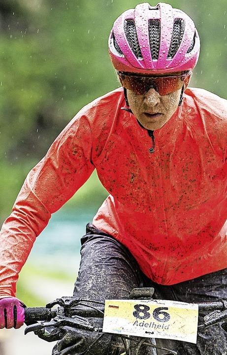 Trotz schlechten Wetters konnte Adelhe...hrten auf der zweiten Etappe genießen.    Foto: Lynn Sigel