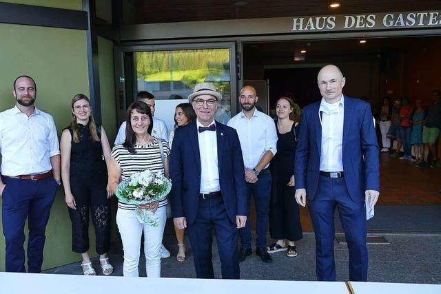 Roland Tibi bleibt Bürgermeister von Elzach