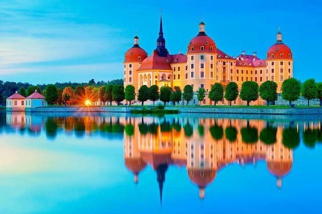 Besuchen Sie mit uns das Schlösserland Sachsen