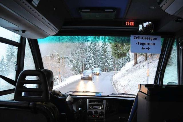 Die Buslinie 9002 von Schopfheim nach Gersbach bewährt sich
