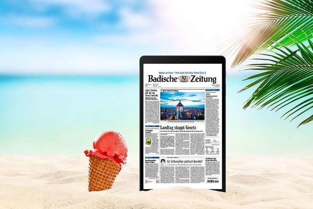 Sichern Sie sich alle BZ-Inhalte und ein Samsung-Tablet zum Aktionspreis