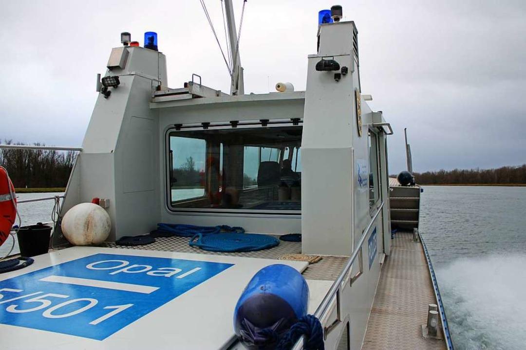 Auch die Wasserschutzpolizei Breisach war im Einsatz (Symbolbild).  | Foto: Annika Sindlinger