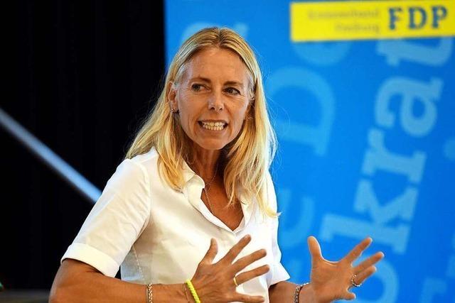 Claudia Raffelhüschen tritt für die FDP Freiburg bei der Bundestagswahl an
