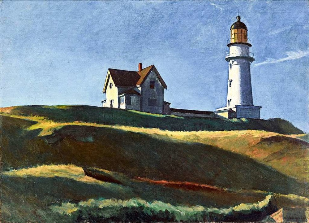 Hoppers Lighthouse Hill von 1927  | Foto: Dallas Museum of Art, Photo by Brad Flowers