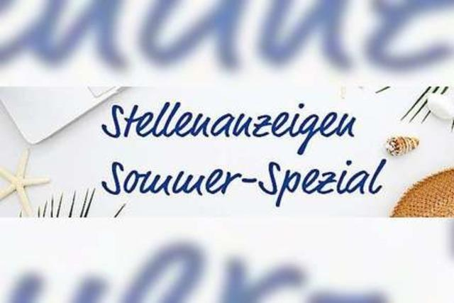 DER JOBMARKT: Sommer-Spezial