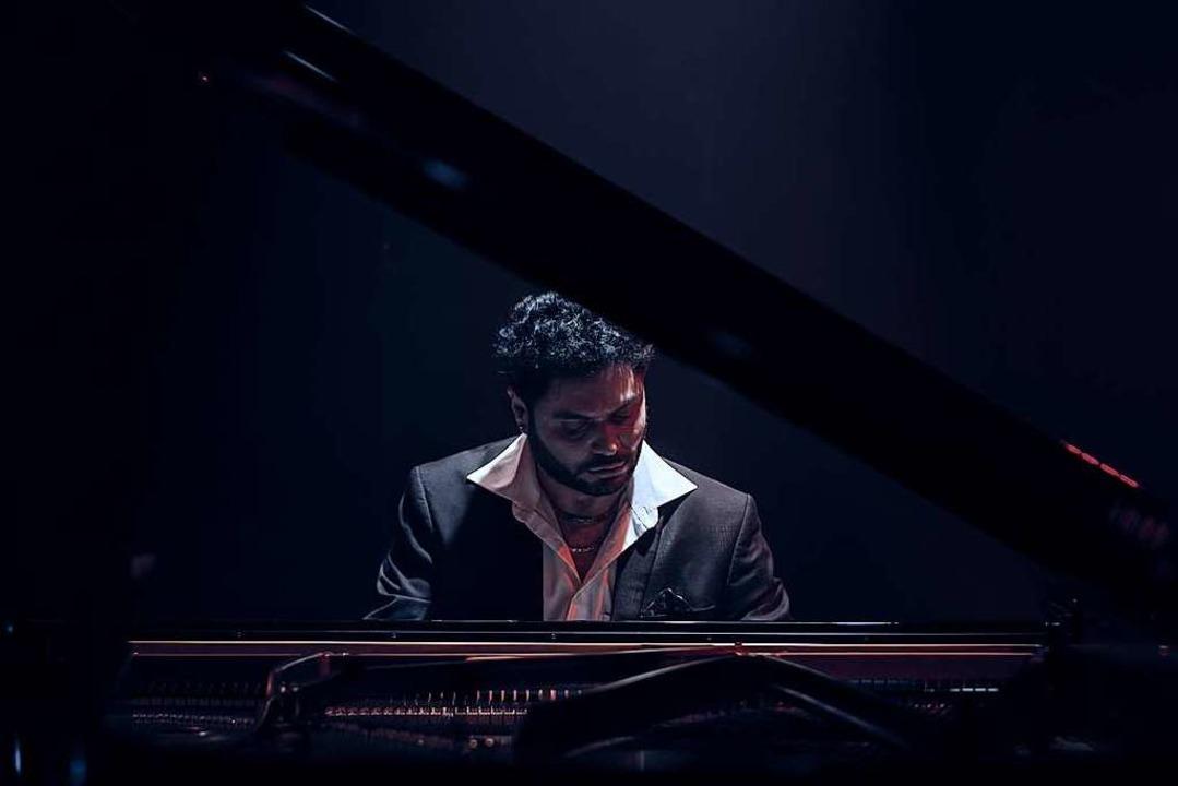 "Pervez Mody beim ""We live""-Konzert.  | Foto: Pervez Mody"