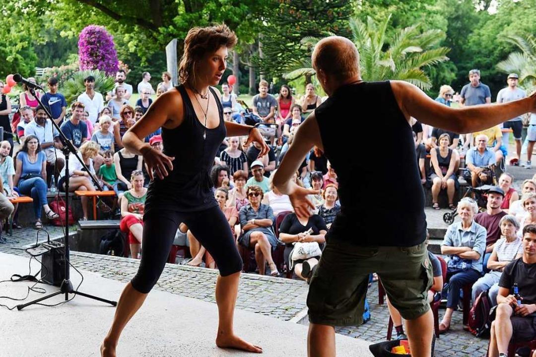 Neben dem Theatersportfestival finden ...burger Stadtgarten statt (Archivbild).    Foto: Rita Eggstein