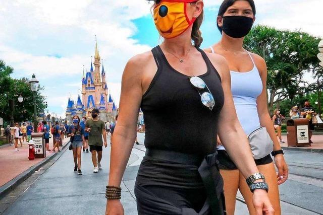 Disney-World öffnet in Florida trotz Rekordzahl an Corona-Neuinfektionen