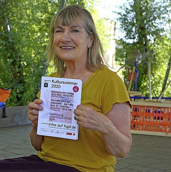 Karin Maßen, Leiterin des Theaters Tempus Fugit  | Foto: Roswitha Frey