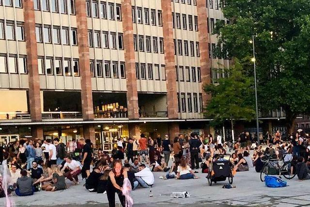 In Freiburg kehrt im Umgang mit Corona Sorglosigkeit ein