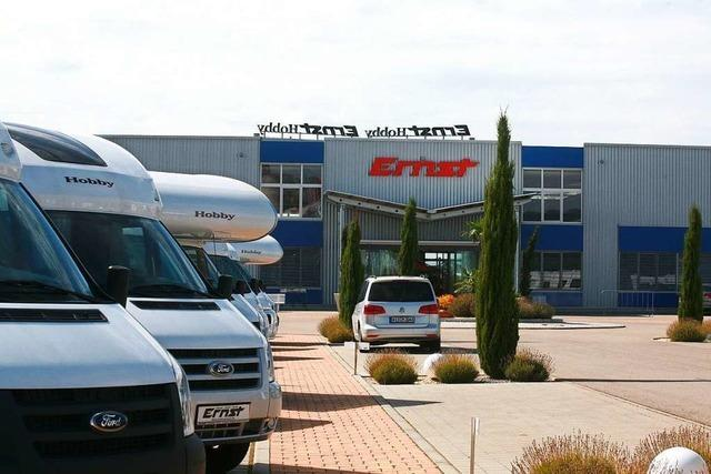 Caravan-Ernst will im Industriegebiet Dyn A 5 erweitern