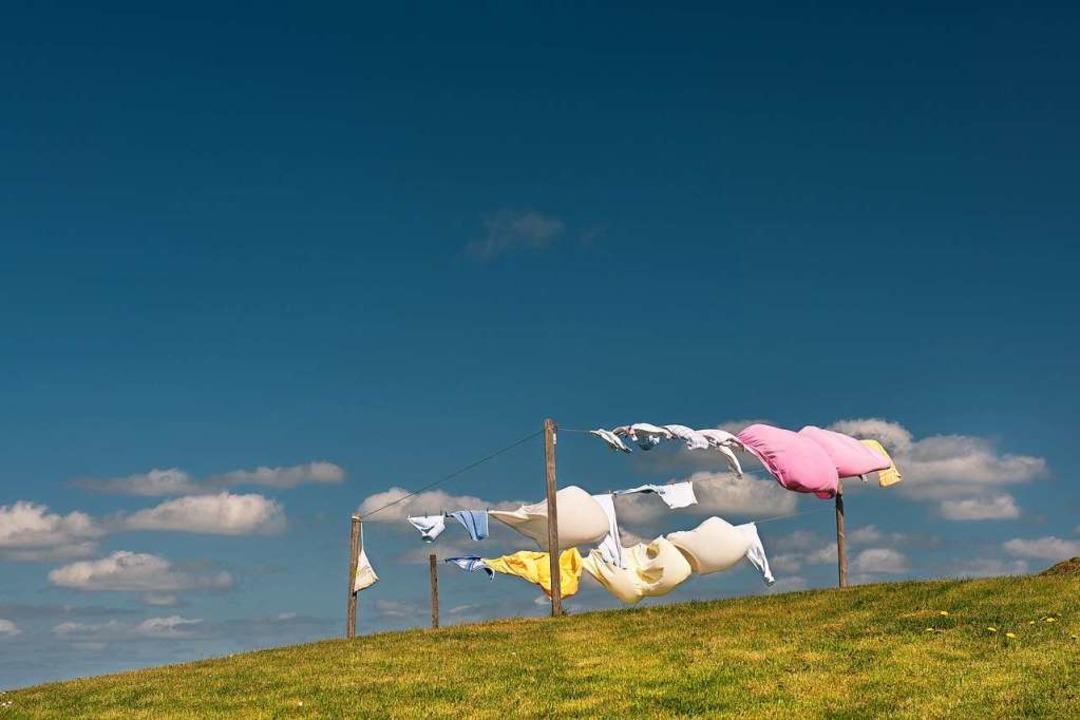 Wenn die Wäsche beim Trocknen nicht be...cknen genauso   – und wird hart.  | Foto: franke 182 (stock.adobe.com)