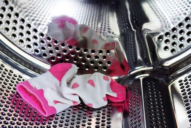 Wohin verschwinden die Socken in der Waschmaschine?