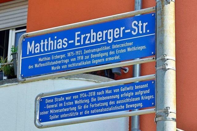 Freiburger Gemeinderat entscheidet über letzte Staßennamen-Änderungen