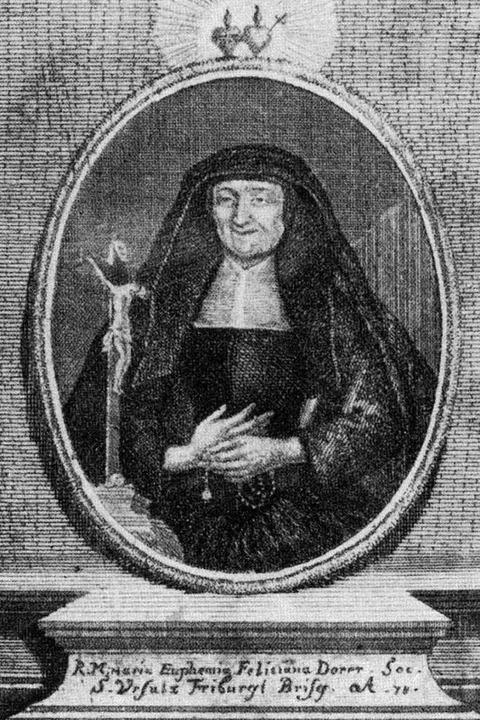 Oberin Euphemia Dorer (1667-1752) stand auch als  | Foto: Stiftungsverwaltung