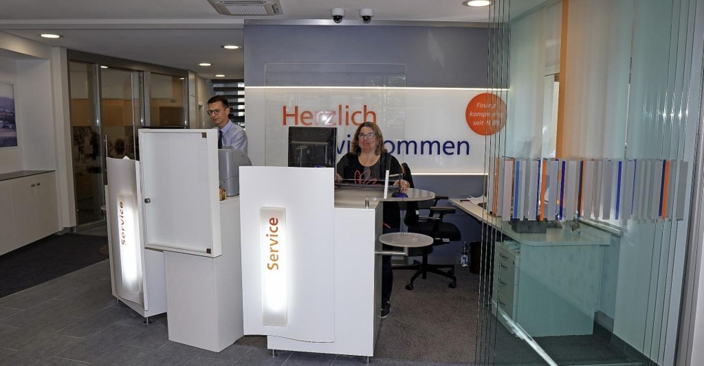 Modern gestaltet präsentiert sich die ... den Geldautomaten  gesprengt hatten.     Foto: Jürgen Schweizer