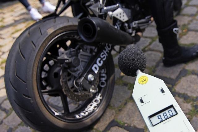 Gegen Motorradlärm
