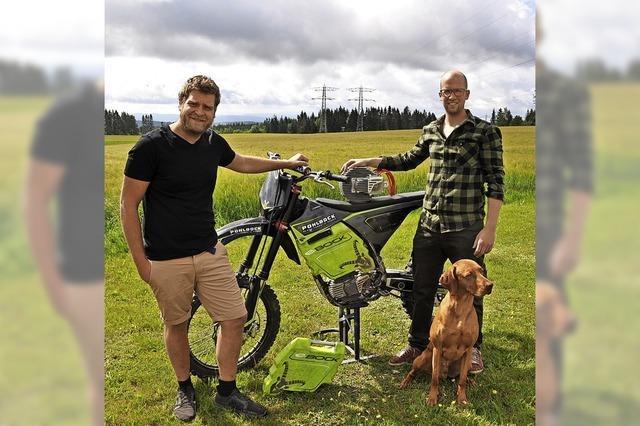 Tüftler aus dem Hochschwarzwald entwickeln Elektro-Motocross-Motorrad
