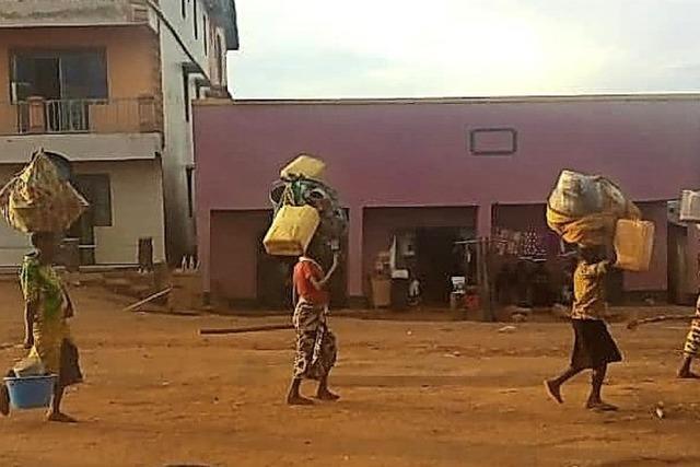Im Einsatz für Afrika