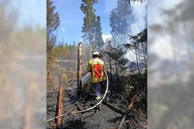 Großeinsatz für die Feuerwehren in Eschbach