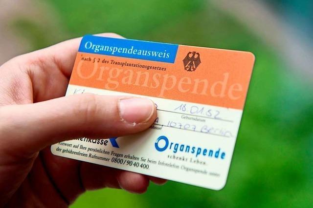 Die steigende Zahl an Organspenden ist ein gutes Zeichen
