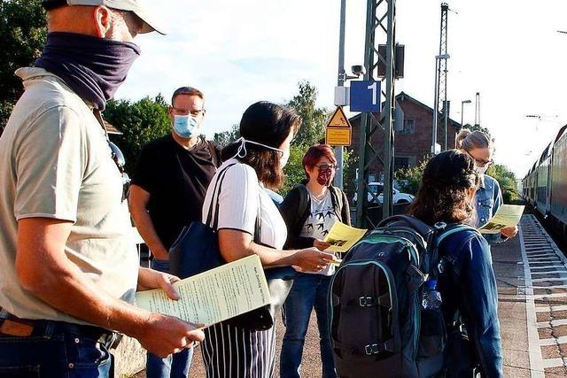 Friesenheimer Pendler ruft zum E-Mail-Protest gegen Fahrplan auf