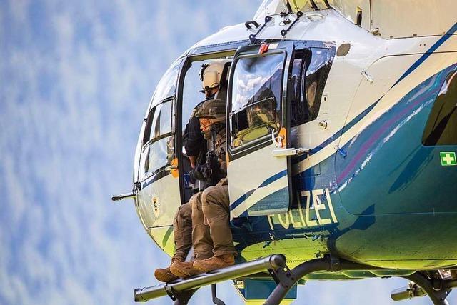 1500 Polizisten waren bei der Suche nach Yves R. bisher im Einsatz