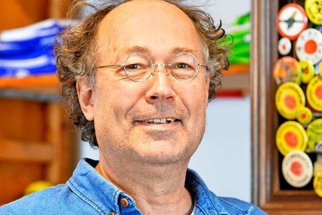 Stefan Auchter will sich für Radwege und gegen das Insektensterben einsetzen