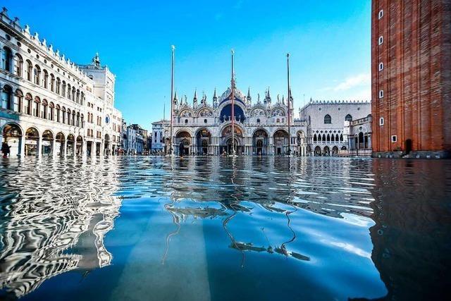 Warum steigt in Venedig so oft das Wasser?