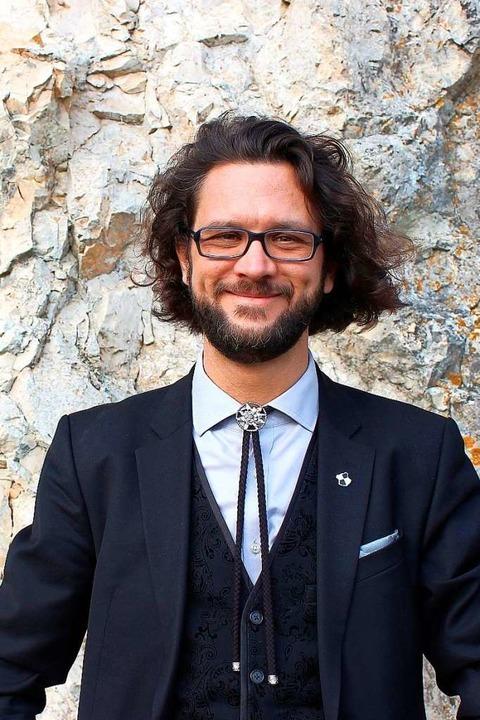 Johannes Kretschmann, Sohn des baden-w...r die Partei Bündnis 90/Die Grünen an.    Foto: Hanna Strauß