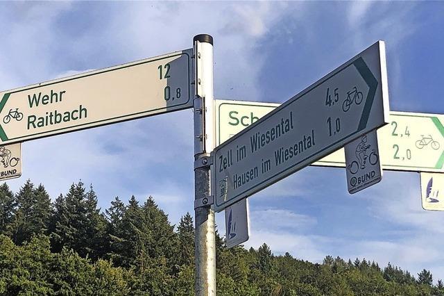 Rat will Radroute nach Gersbach ausschildern