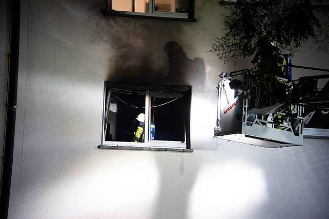 Brennende Zigarette wohl Ursache für Zimmerbrand in Müllheimer Flüchtlingsheim