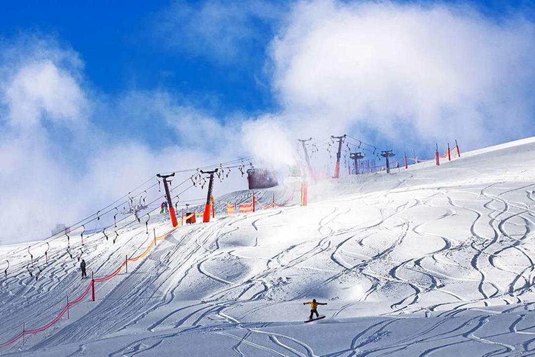Skifahren auf dem Feldberg schätzen  Einheimische wie Touristen.  | Foto: Wolfgang Scheu