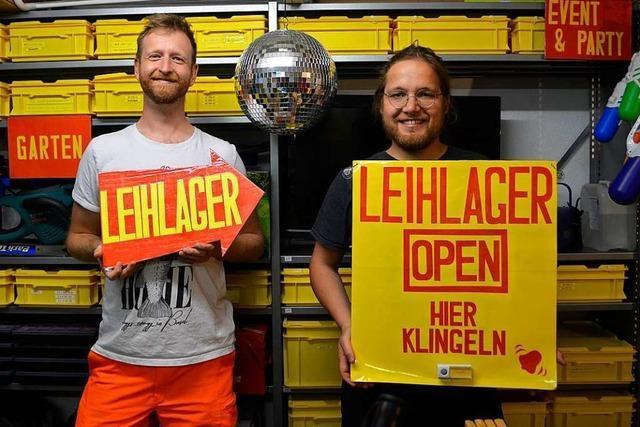 Von A wie Akku-Bohrer bis Z wie Zelt – in Basel gibt es ein Leihlager