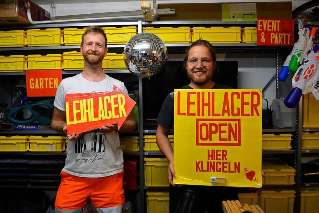 Michael Flückiger (links) und Noël Michael  | Foto: Savera Kang