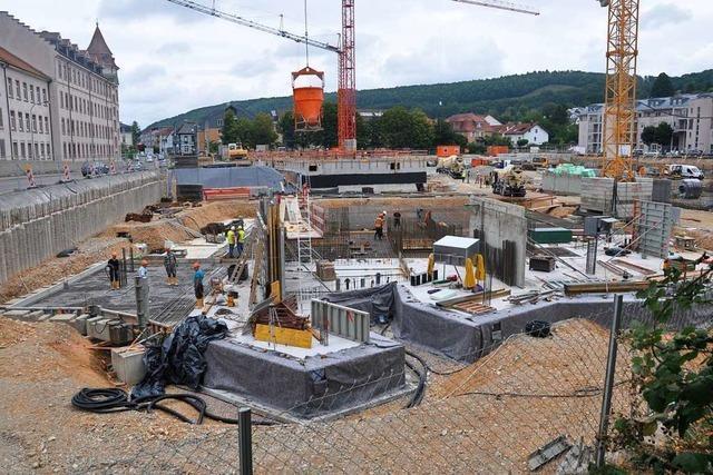 Der Neubau des Landratsamts in Lörrach bleibt ein Sorgenkind