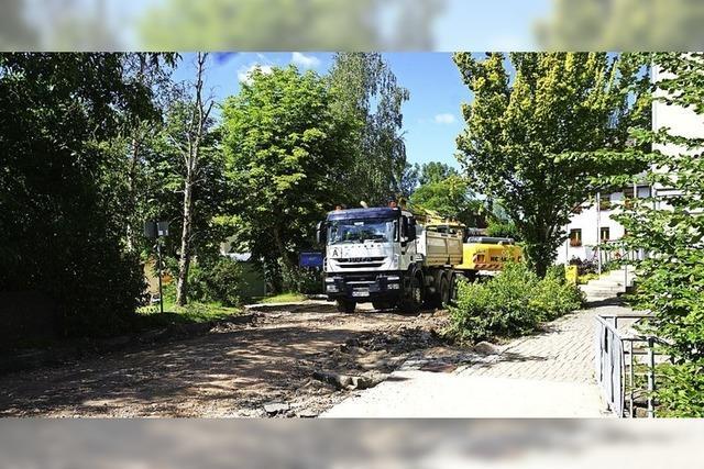 Ortsdurchfahrt Ühlingen für den Verkehr gesperrt