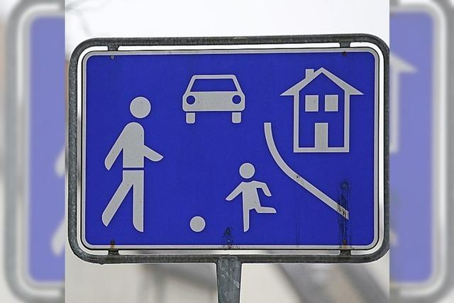Spielstraßen im Neubaugebiet