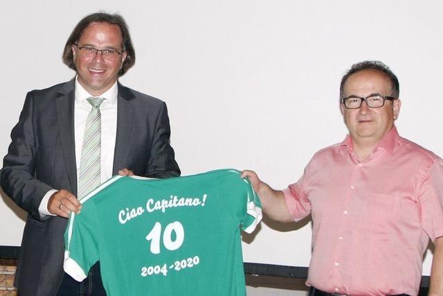 Gemeinde Schuttertal verabschiedet Bürgermeister Carsten Gabbert
